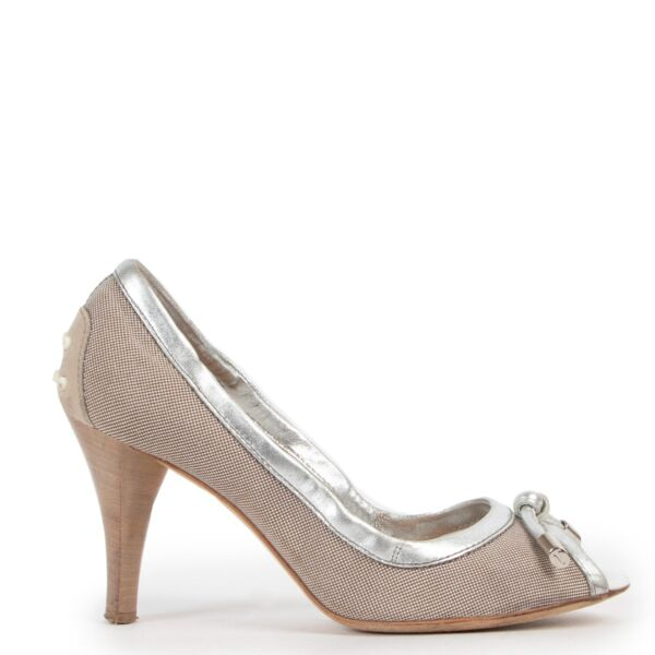 Tod's Silver Pumps - Size 36,5