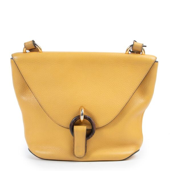 Safely purchase a used one Delvaux Yellow Leather Crossbody. Buy online in a reliable way a Delvaux Yellow Leather Crossbody. Buy in a safe site and easy way a Delvaux Yellow Leather Crossbody.
