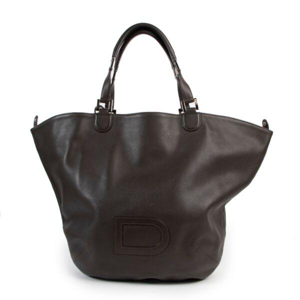 Delvaux Brown Le Louise Shoulder Bag