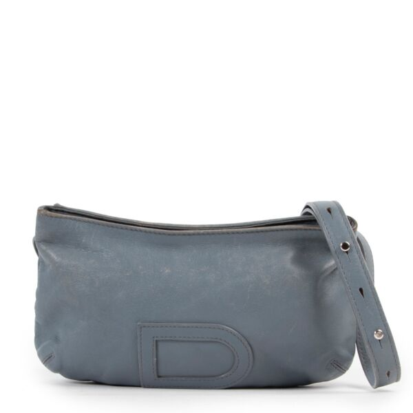 Delvaux Blue Bag