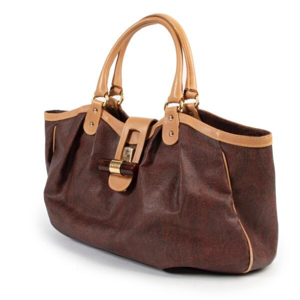 Etro Multicolor Leather Shoulder Bag