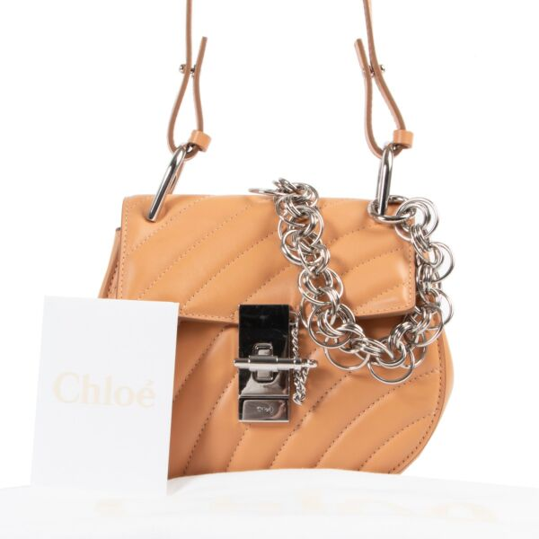 Chloé Drew Bijoux Blushy Pink Shoulder Bag