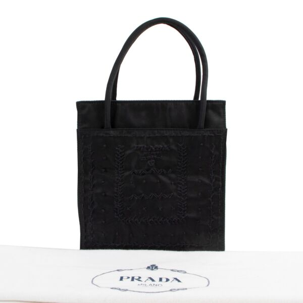 Prada Black Top handle