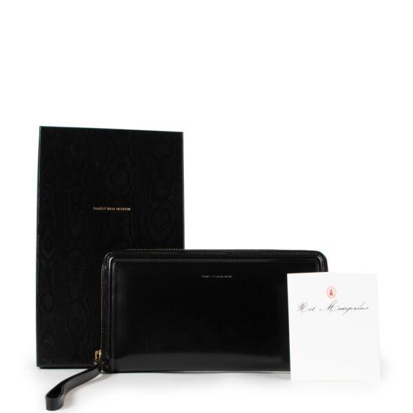 Dries Van Noten Black Wallet
