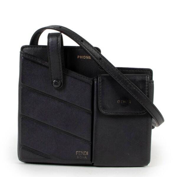 Black crossbody Fendi bag