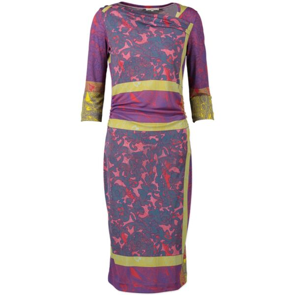 Shop safe online 100% authentic Etro Multicolor Dress in Size 42 in very good condition at the right price at Labellov in Antwerp.