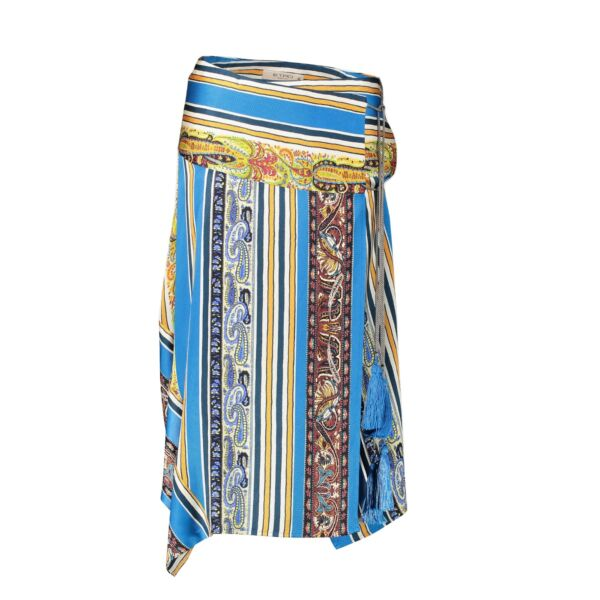 Shop safe online 100% authentic Etro Multicolor Skirt in Size 42 in very good condition at the right price at Labellov in Antwerp.