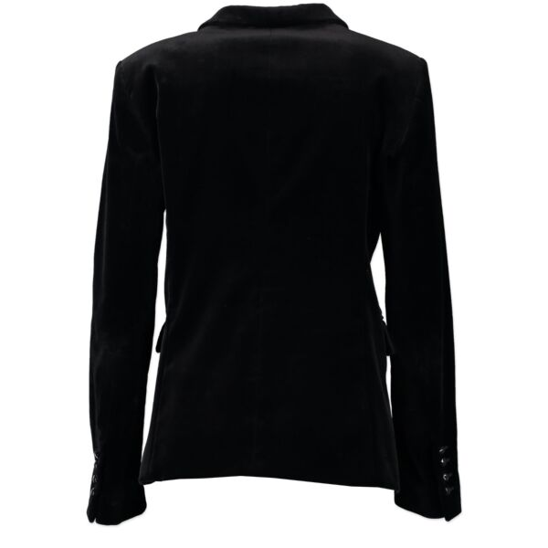 Gucci Black Velvet Jacket - IT Size 44