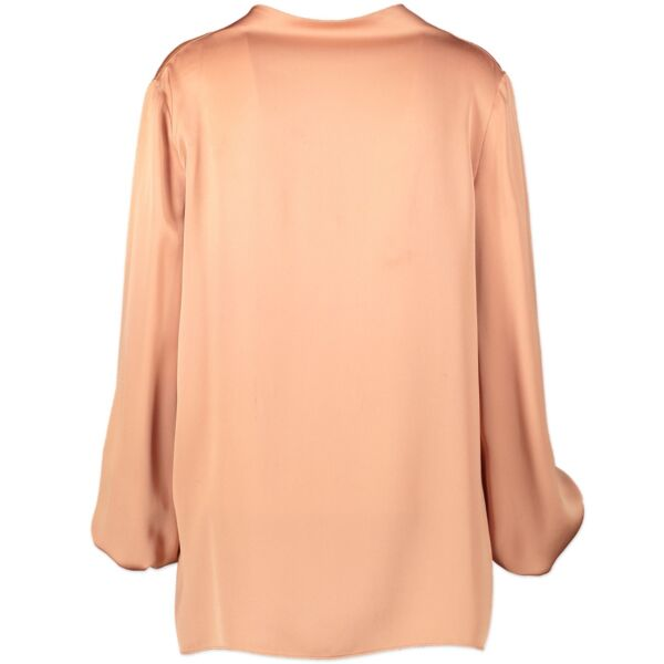 Shop safe online 100% authentic second hand Tom Ford Pink Silk Top - Size 44 at the right price at Labellov in Antwerp.
