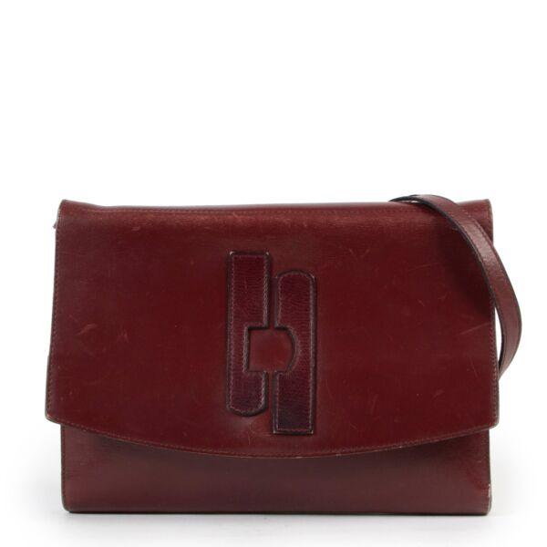 Delvaux Burgundy Shoulder bag vintage