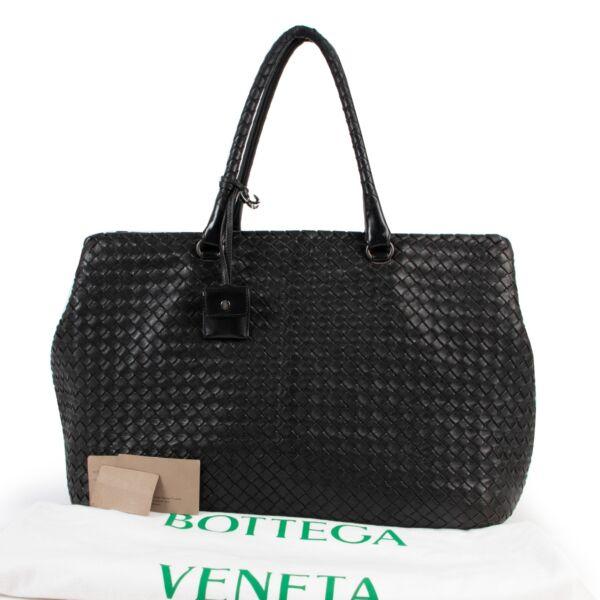 Bottega Veneta Intrecciato Large Duffle Bag