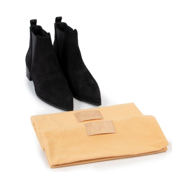 Acne Black Boots - Size 38