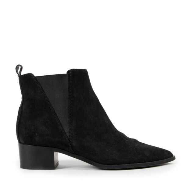 Shop safe online black Acne boots