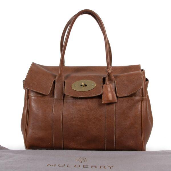 Mulberry Brown Bayswater Shoulder Bag