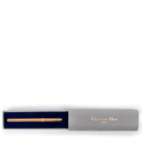 Christian Dior Gold Ball Point Pen