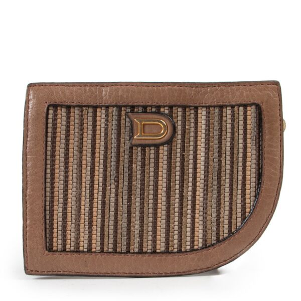 Designer item Brown Toile De Cuir wallet in 2nd hand online store in perfect and original condition.