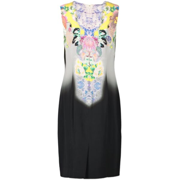 Etro Black Multicolor Dress - Size 46 (IT)