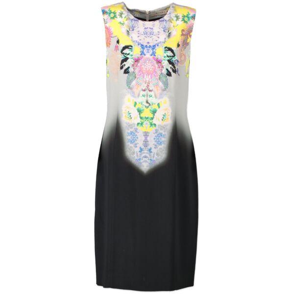 Original Vintage Etro Black Multicolor Dress now for sale on Labellov vintage for luxury 2nd hand designer clothes