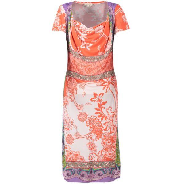 Etro Multicolor Dress -Size 44 (IT)