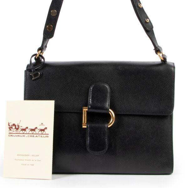 Delvaux Black Shoulder Bag