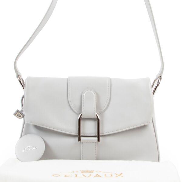 Delvaux Grey Givry PM Shoulder bag