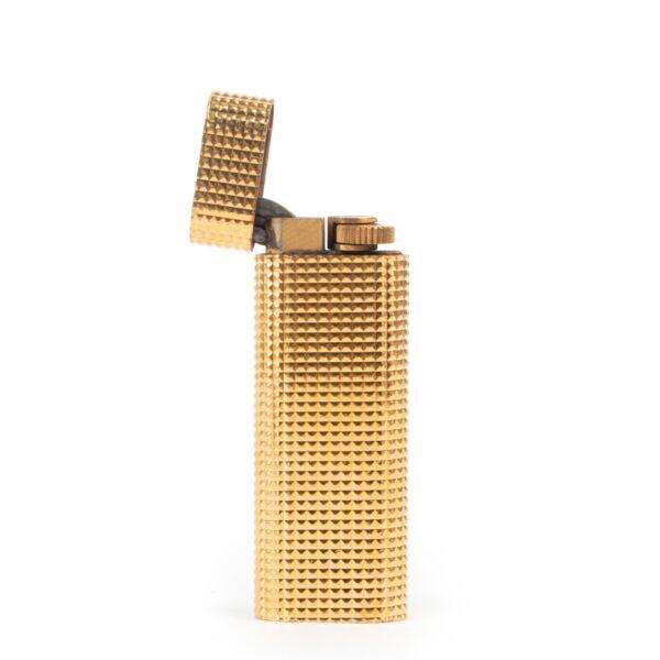 Gold Cartier vintage treasure lighter in good condition by Labellov