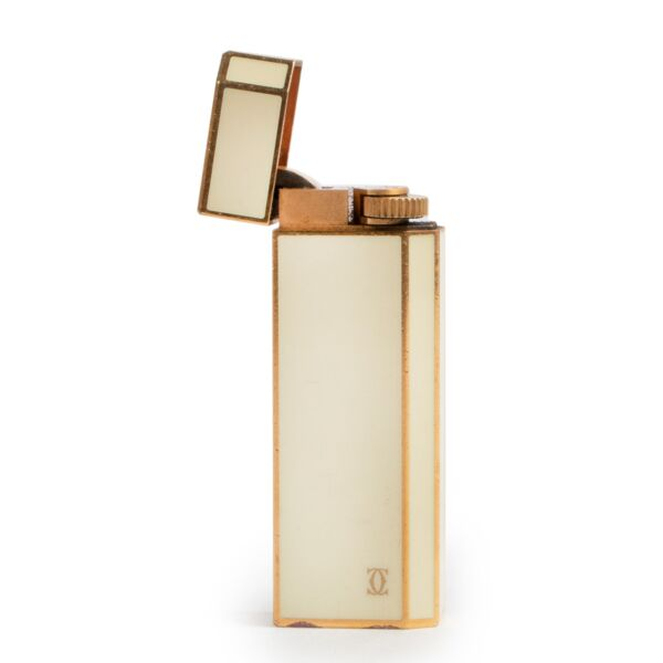 Cartier Cream Lighter now online to buy on Labellov