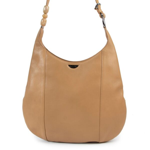 Christian Dior Camel Leather Shoulder bag in very good condition