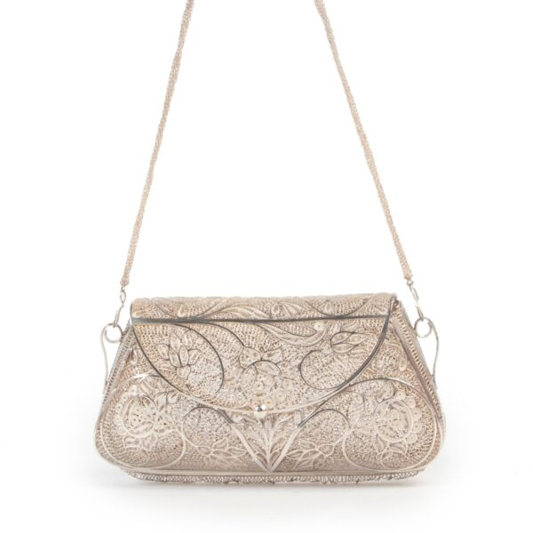 Other Top Handle Bag in real silver design now online via Labellov