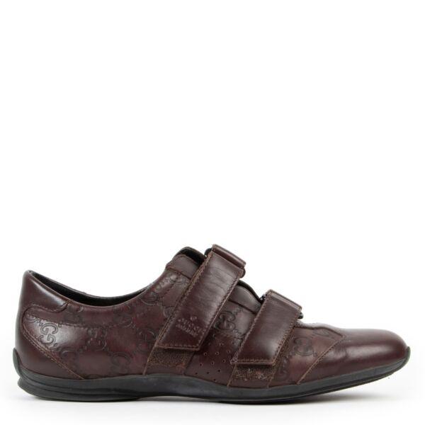 Buy these Gucci Brown Sneakers - size 38 for a reasonable price at Labellov online or in store. Koop deze Gucci Brown Sneakers - size 38 voor een redelijke prijs bij Labellov online of in de winkel.
