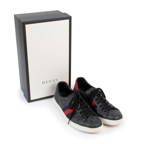 Gucci Ace GG Supreme Sneakers - Size 44