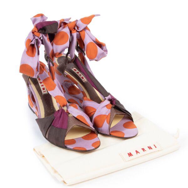 Marni Multicolor Sandals - size 40