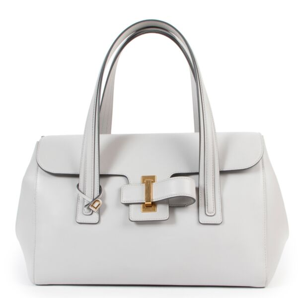 Delvaux Grey  Simplissime Cabas Shoulder bag
