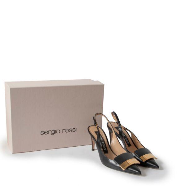 Sergio Rossi Black Pumps - size 36