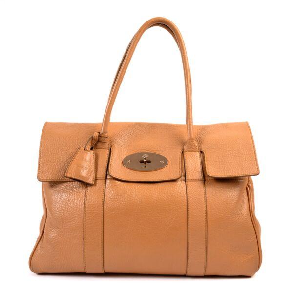 shop safe online Mulberry Pink Salmon Leather Bayswater Shoulder Bag