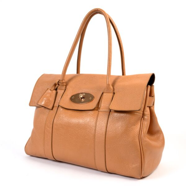 Mulberry Pink Salmon Leather Bayswater Shoulder Bag