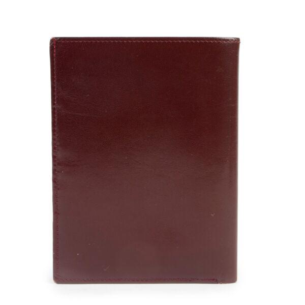 Cartier Burgundy Wallet