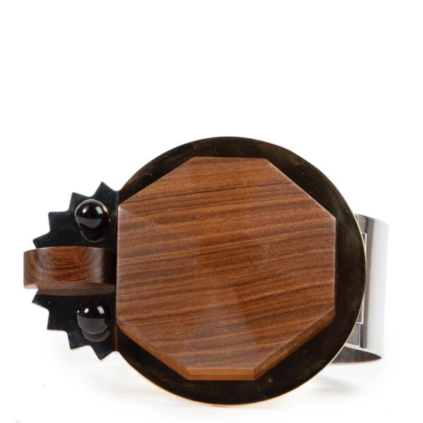 Marni Wood and Resin Bracelet at Labellov online or in store in very good condition.