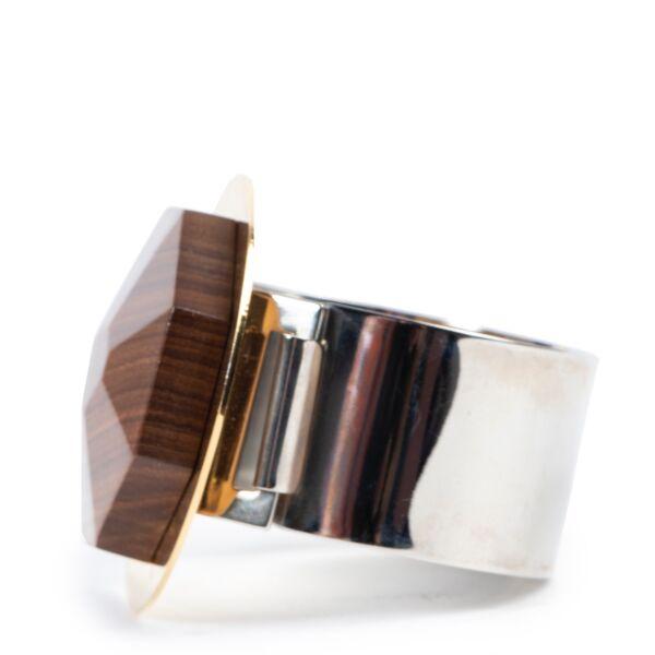 Marni Wood and Resin Bracelet