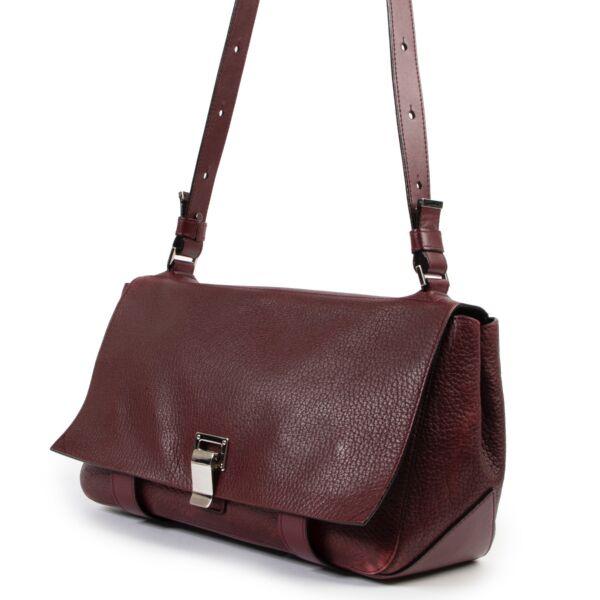Proenza Schouler Burgundy Crossbody Bag