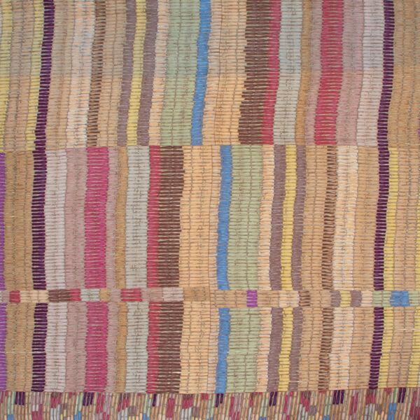 Delvaux Multicolor Earthtones Scarf
