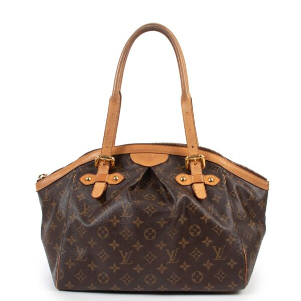 shop safe online 100% authentic second hand Louis Vuitton Monogram Tivoli GM Shoulder bag in very good condition at Labellov in Antwerp.