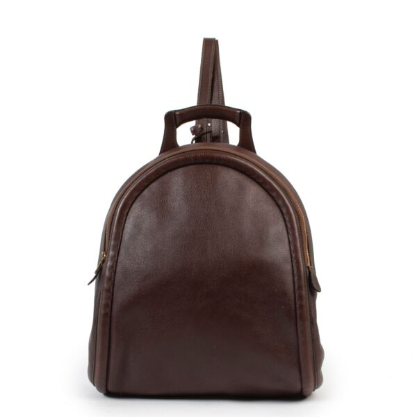 Delvaux Brown Backpack