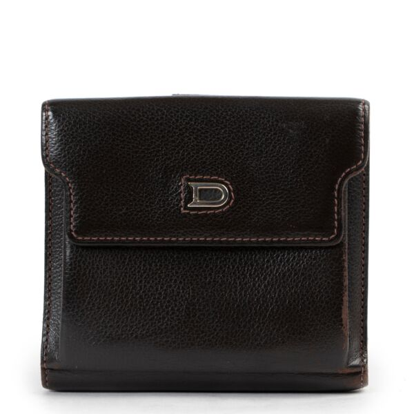 Delvaux Brown Wallet