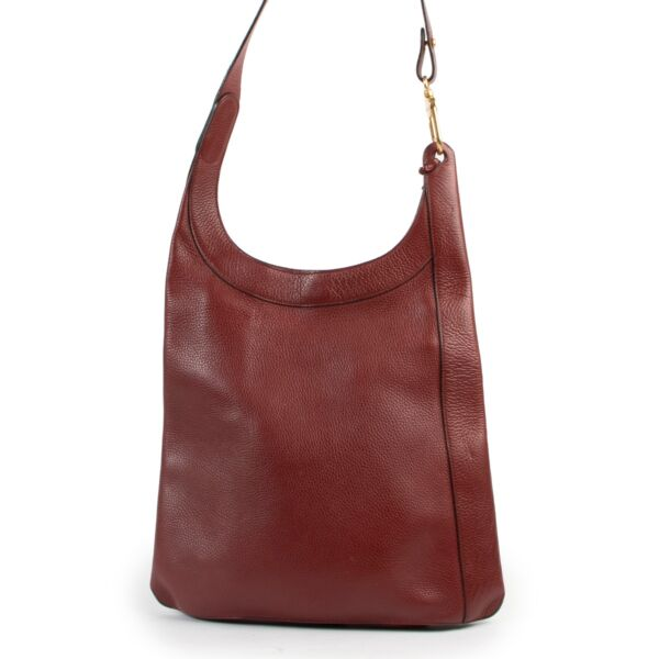 Red Leather crossbody and shoulder bag by Delvaux