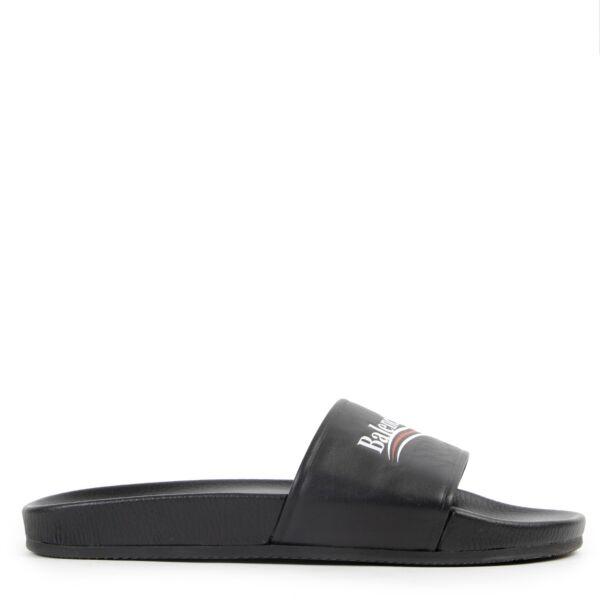 Balenciaga Black Sandals - Size 41
