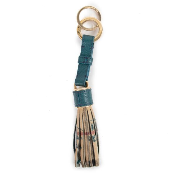 Buy and sell your designer items. Get this Burberry Blue Leather Monogram Keychain at Labellov online or in store.