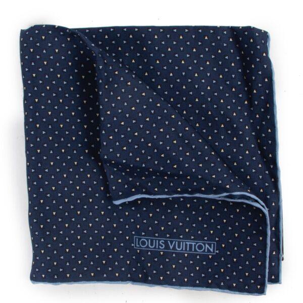 Louis Vuitton Blue Pochette