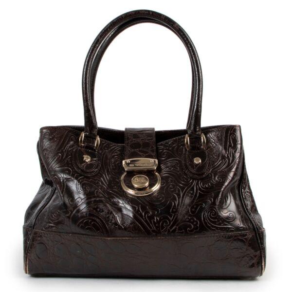 Etro Brown Shoulder Bag