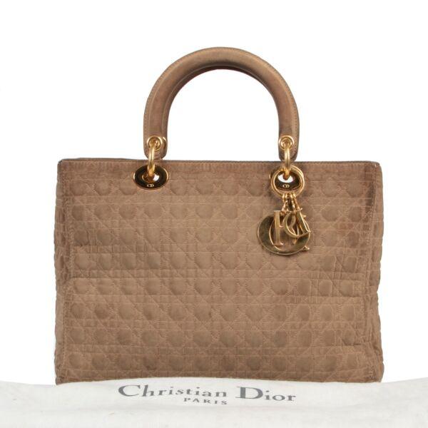 Christian Dior Beige Lady Dior